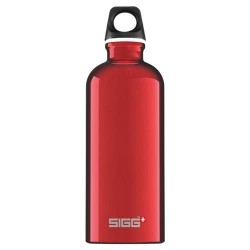 Sigg water bottle traveller red - 0.6 Liter, 6 pack