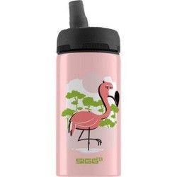 Sigg water bottle cuipo born pink live green  - 0.4 letres