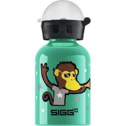 Sigg water bottle go team monkey elephant - 0.3 Liters,  6 pack