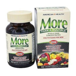 American Health more than a multiple whole food concentrates for men, 90 tablets
