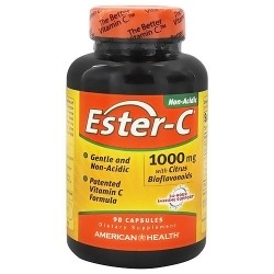 Ester C with citrus bioflavonoids 1000 mg capsules by American Health - 90 ea