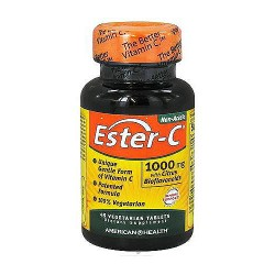 American Health Ester C For Immune Support With Citrus Bioflavonoids 1000 mg Tablets - 45 ea
