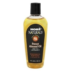 Hobe Lab Naturals Cold Pressed Sweet Almond Oil - 4 oz