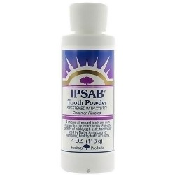Heritage IPSAB toothpowder intended with xylitol Cinnamon flavoured - 4 oz