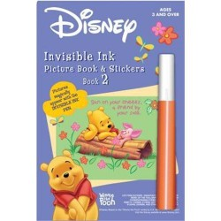 Disney winnie inv ink sticker book - 3 ea