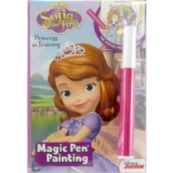 disney sofia magic pen painting - 6 ea