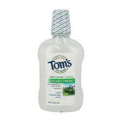 Toms of maine long lasting wicked fresh mouthwash, cool mountain mint - 16 oz
