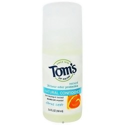Toms of maine natural odor protection deodorant roll on, citrus zest - 2.4 Oz