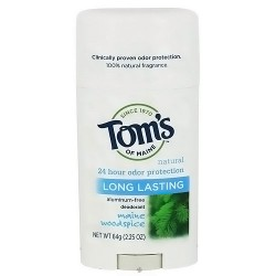TomS Of Maine natural deodorant stick, woodspice - 2.25 Oz