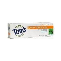 Toms of maine cavity protection with fluoride toothpaste, peppermint - 5.5 oz