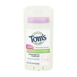 Toms Of Maine naturally dry antiperspirant deodorant, Natural powder - 2.25 oz