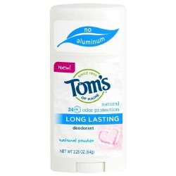 Tom's of Maine Long Lasting Natural Powder Deodorant - 2.25 oz