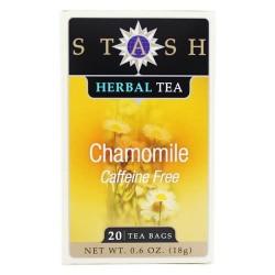 Stash tea - premium chamomile caffeine free herbal tea - 20 tea bags