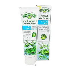 Natures Gate Creme de Mint Natural Toothpaste - 6 oz, 6 pack