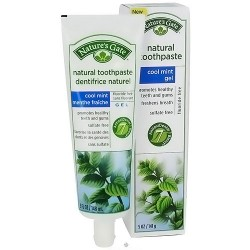 Nature's Gate natural toothpaste cool mint gel - 5 oz, 6 pack