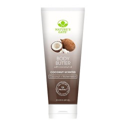 Nature's gate body butter with coconut oil - 8 oz