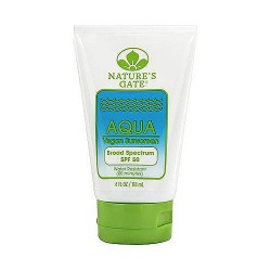 Natures Gate Aqua Block SPF 50 Sunscreen Lotion - 4 oz