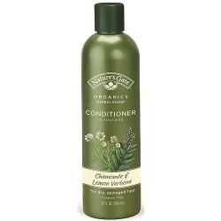 Natures Gate Organics Hair Conditioner, Chamomile and Lemon Verbena - 12 oz