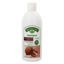 Natures Gate Pomegranate Sunflower Hair Defense Shampoo - 18 oz