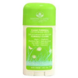 Natures gate green meadows deodorant stick - 2.5 oz