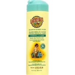 Earths best organic 2 in 1 shampoo and body wash lavender - 8.5 oz