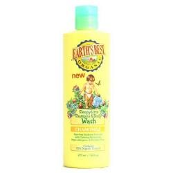 Earths best organic sleepytime shampoo and body wash, chamomile  -  16 Oz