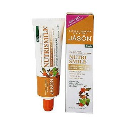 Jason Natural Nutrismile Ester-C orange toothpaste, Cinnamon and Mint - 4.2 oz