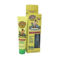 Jason Natural Earths Best toddler toothpaste for kids Strawberry Banana - 1.6 oz