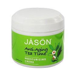 Jason Natural tea time anti aging moisturizing creme - 4 oz