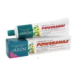 Jason Natural powersmile fluoride free toothpaste Vanilla Mint - 6 oz