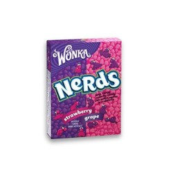 Wonka nerds grape strawberry candies - 1.6 oz