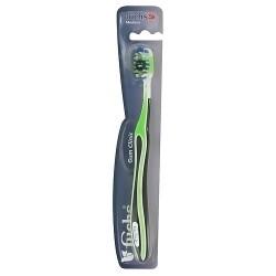 Fuchs Gum Clinic Nylon Bristle Toothbrush, Medium - 1 ea