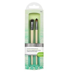 Paris presents ecotools ultimate concealer duo brushes - 2 ea