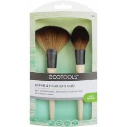 Paris presents ecotools define and highlight duo brushes - 2 ea