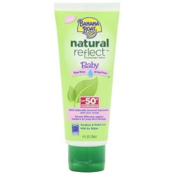 Banana Boat natural reflect baby sunscreen lotion with SPF 50+ - 4 oz