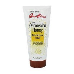 Queen Helene gentle oatmeal n honey natural facial scrub - 6 oz