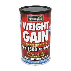 Naturade Weight gain instant nutrition drink mix Vanilla - 16.3 oz