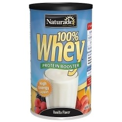 Naturade 100 percent Whey Protein booster Vanilla flavour - 12 oz