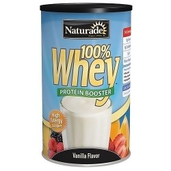 Naturade 100 percent Whey Protein booster Vanilla flavour - 24 oz