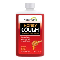 Naturade honey cough syrup - 4.2 oz