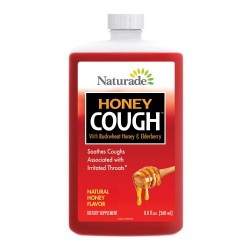 Naturade cough syrup honey - 8.8 oz