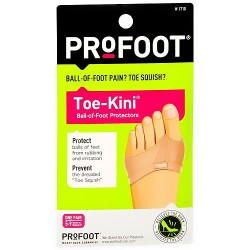Profoot toe kini ball of foot protectors - 1 pair