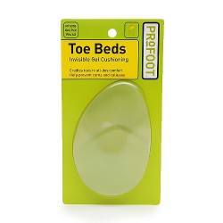 Profoot toe beds invisible gel cushioning - 1 pair