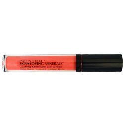Prestige cosmetics, skin loving minerals lasting moisture lip gloss, tender pink - 2 ea