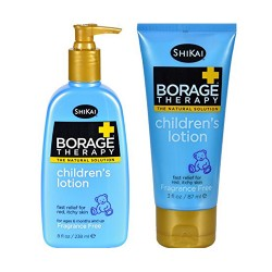 Shikai borage therapy childrens lotion fragrance free - 3 oz