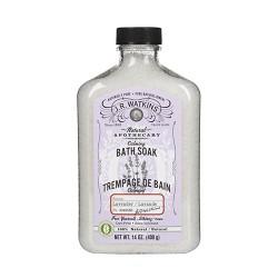 J.R.Watkins natural apothecary calming lavender bath soak - 14 oz
