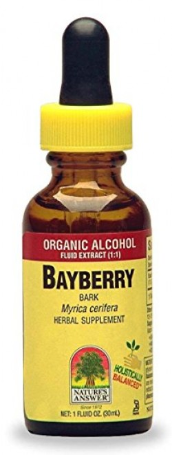 Nature's Answer Bayberry bark organic alcohol - 1 oz