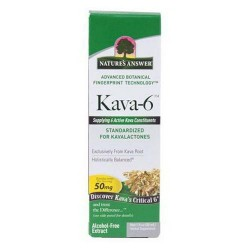 Natures Answer 50 Mg Kava-6 Extract Alcohol-Free - 1 Oz