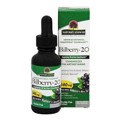 Nature's answer bilberry 20 - 1 oz