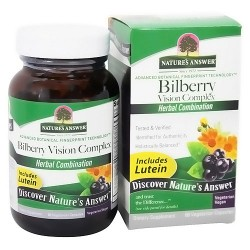 Natures Answer Bilberry Vision Complex - 60 veggie caps